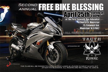 Community Bike Blessing, Apr 25