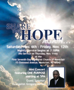 Share the Hope-Evangelistic Series